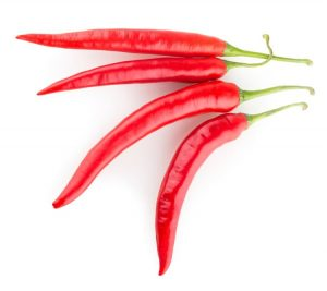 Capsaicin, a compound in chili peppers, might rev up metabolism by about 5 percent, according to a study in the International Journal of Obesity.