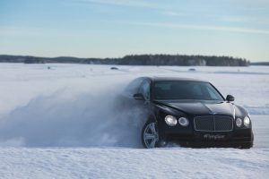 Bentayga to demonstrate prowess on frozen lakes of Finland