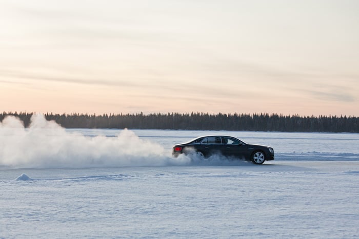 Bentley's extraordinary ice-driving event returns for 2016