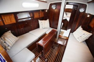 If you're planning on catching some shut-eye while you're out on the seas, then you'll need at least one cabin!