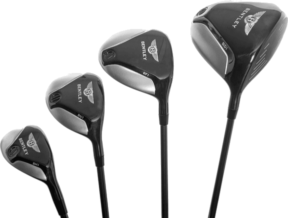 The launch collection offers golf clubs, bags and accessories