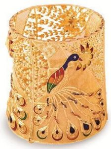 Handmade Product filigree work, mina work, Kolkata made.
