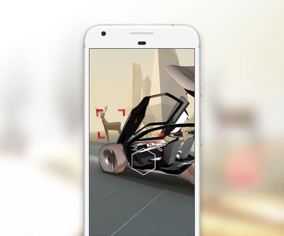"""BMW presents """"Visionary"""" – a Google Spotlight Story."""