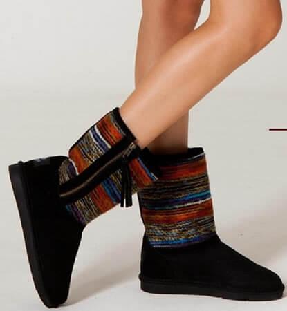 Sheepskin-Boots