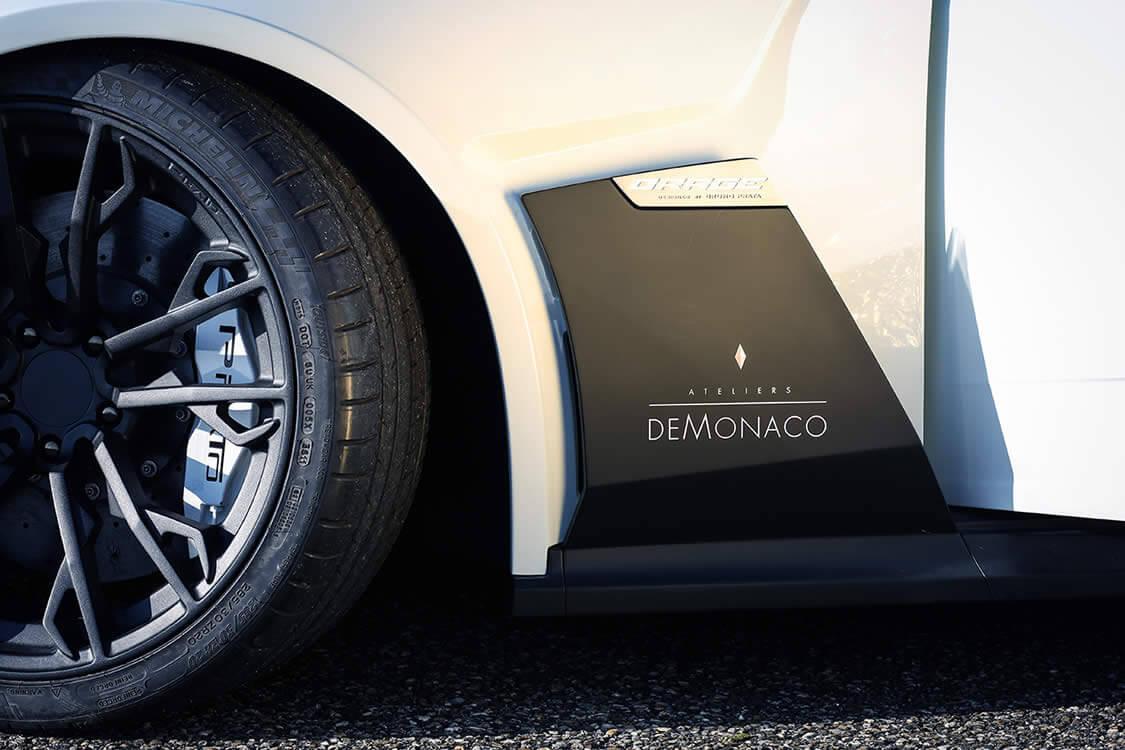 A distinguished partnership between Prato Automobiles & Ateliers deMonaco.