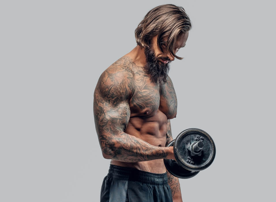 A Systematic Workout and Training Approach for Building Muscle Mass