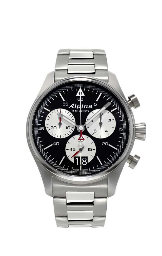 The new Alpina Startimer Pilot Big Date professional pilot watches