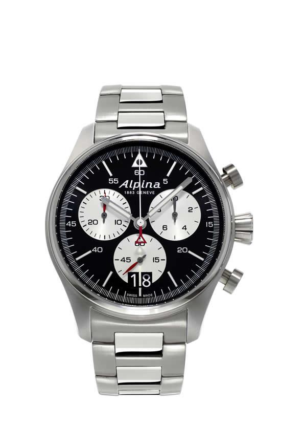 The new Alpina Startimer Pilot Big Date professional pilot watches
