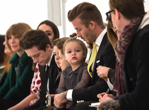 Victoria Beckham Amazed in New York Fashion Week