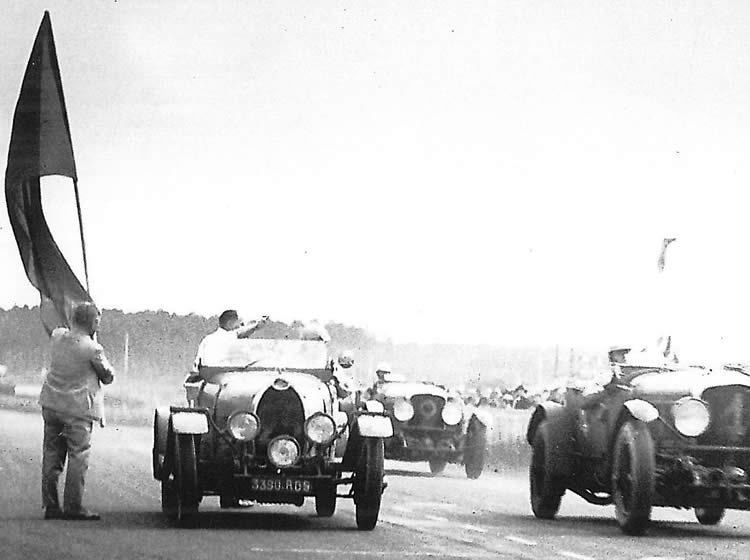 Legendary Bentley Boy Honoured at Silverstone Classic