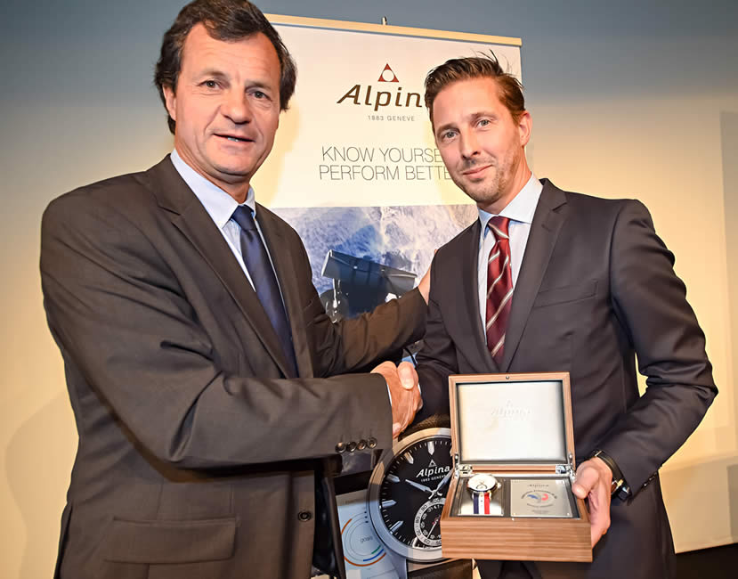 Alpina Watches becomes the official watch of the French Ski Federation