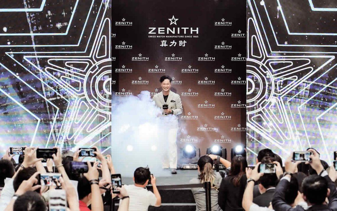 Eason Chan as the new ZENITH ambassador