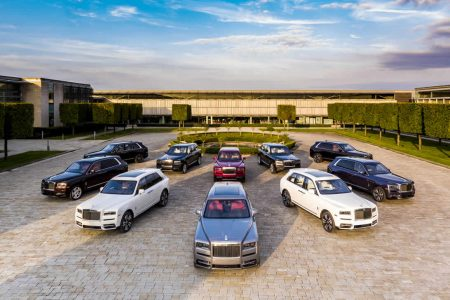 Rolls-Royce Launches Cullinan