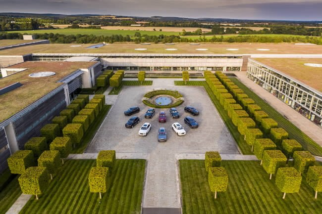 A collection of Rolls-Royce Cullinan has departed the Home of Rolls-Royce in Goodwood