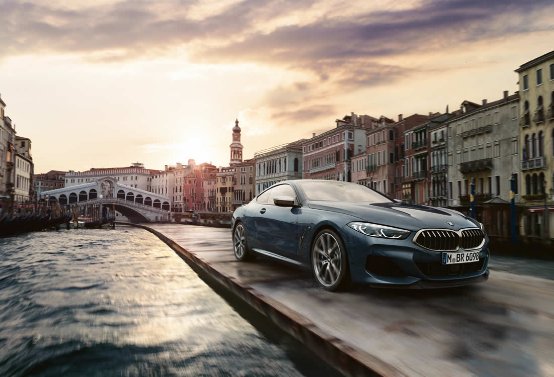 Driving pleasure as never seen before: the new BMW 8 Series Coupe.