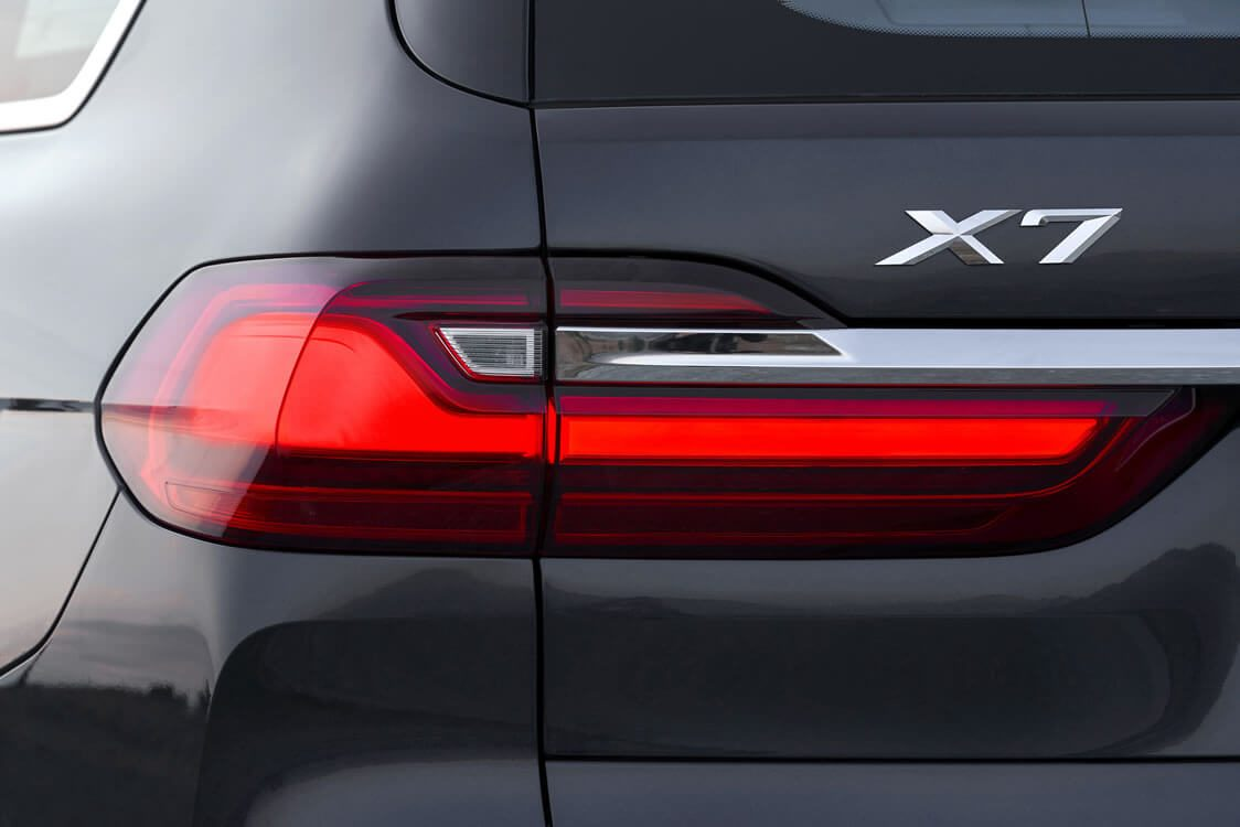 The first-ever BMW X7.