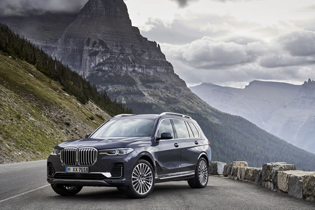 The first-ever BMW X7