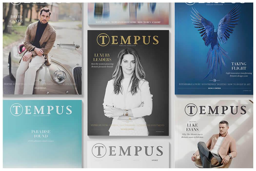 Luxury lifestyle title Tempus Magazine joins new publisher Vantage Media Group