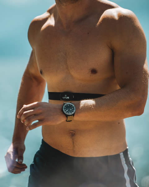 AlpinerX and the new heart rate monitoring belt