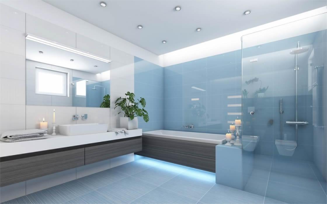 Installing the frameless shower glass screens