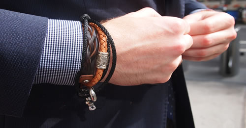 Add Bracelets To Complete The Look