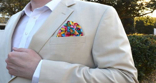 Instill Some Charm With Pocket Squares