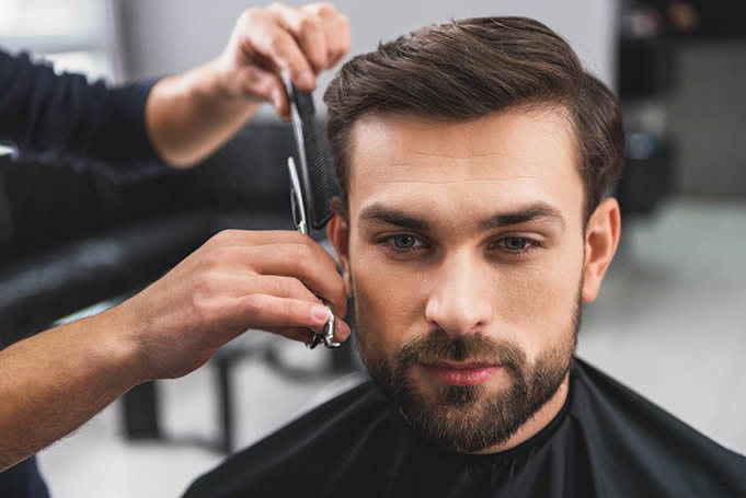 Men Hairdresser Who Is A Magician