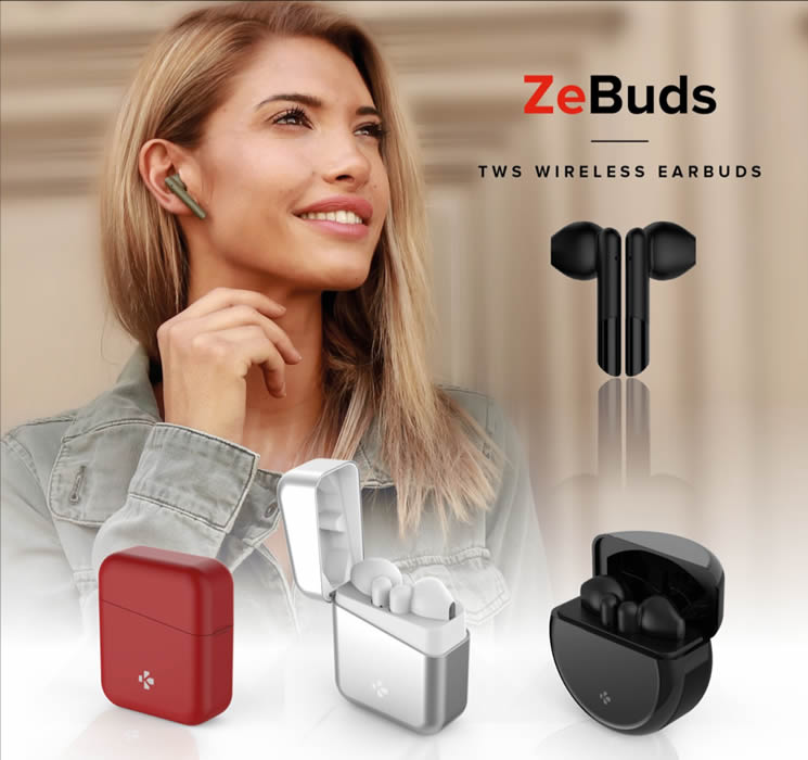 MyKronoz unveils its new flagship ZeBuds collection,