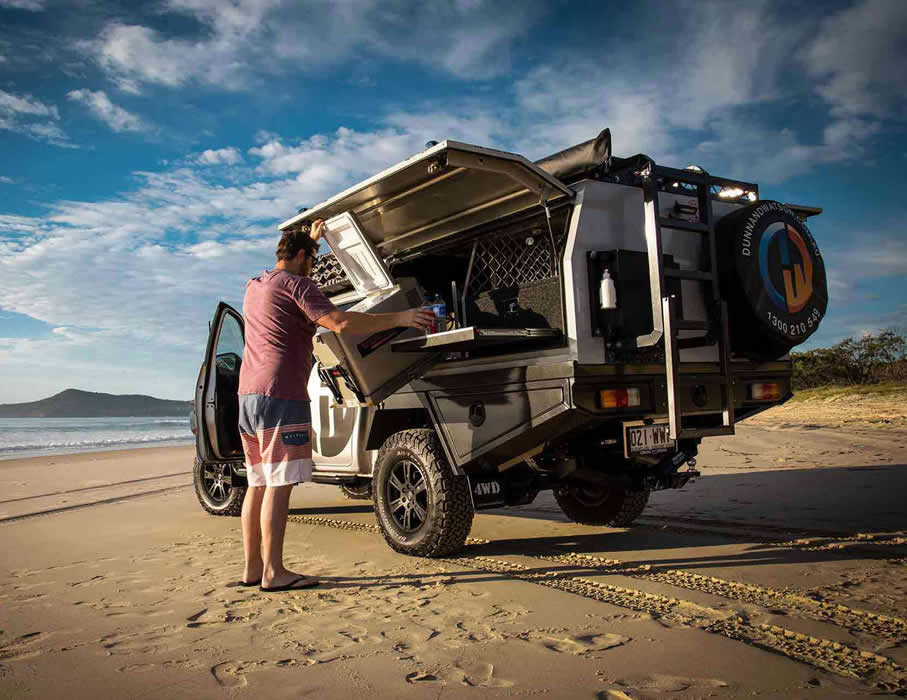 the right aluminium canopy for your Ute
