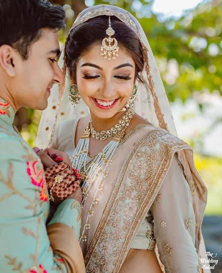 Your Bridal Jewellery With Lehenga
