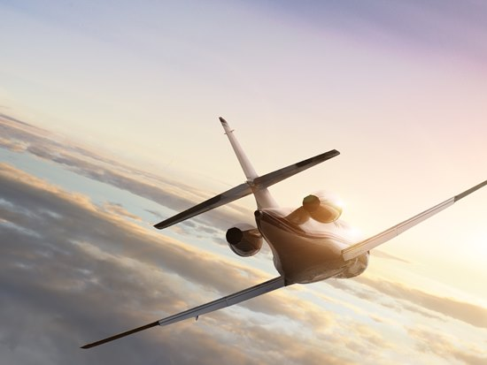 Private jet travel is a booming industry.