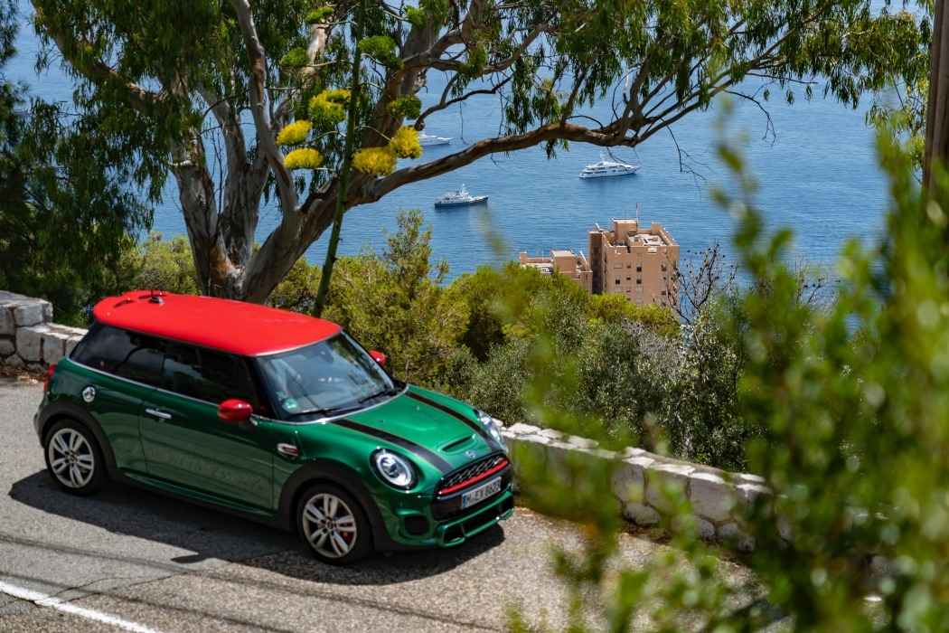 In the tracks of a legend: with the MINI John Cooper Works in Monaco.