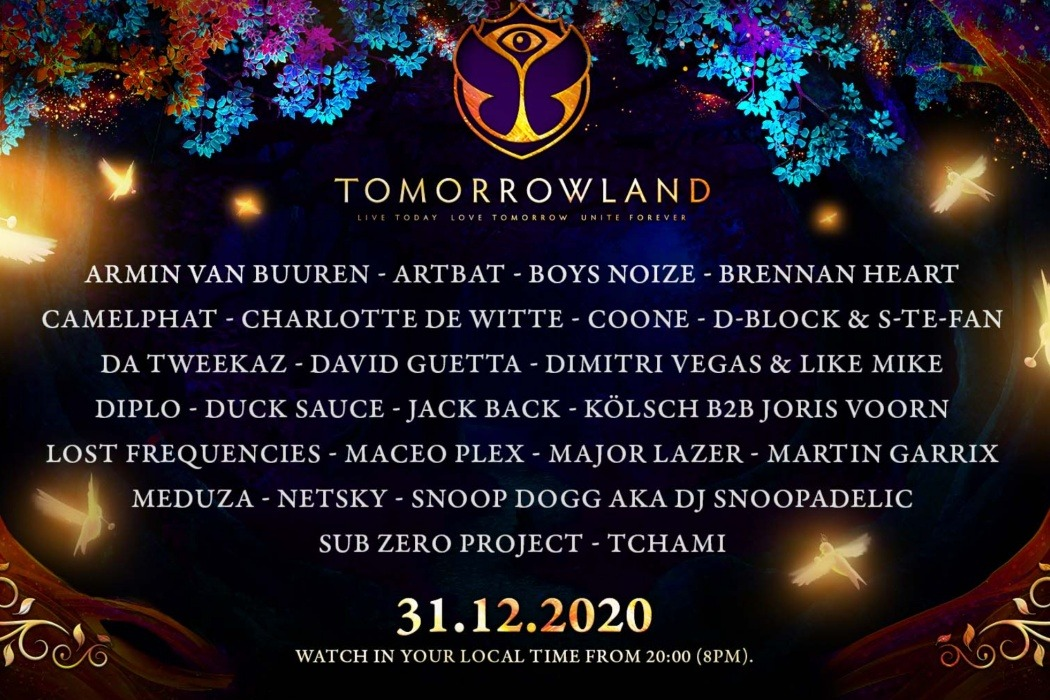 Tomorrowland 2020.12.31 – a magical New Year's Eve celebration