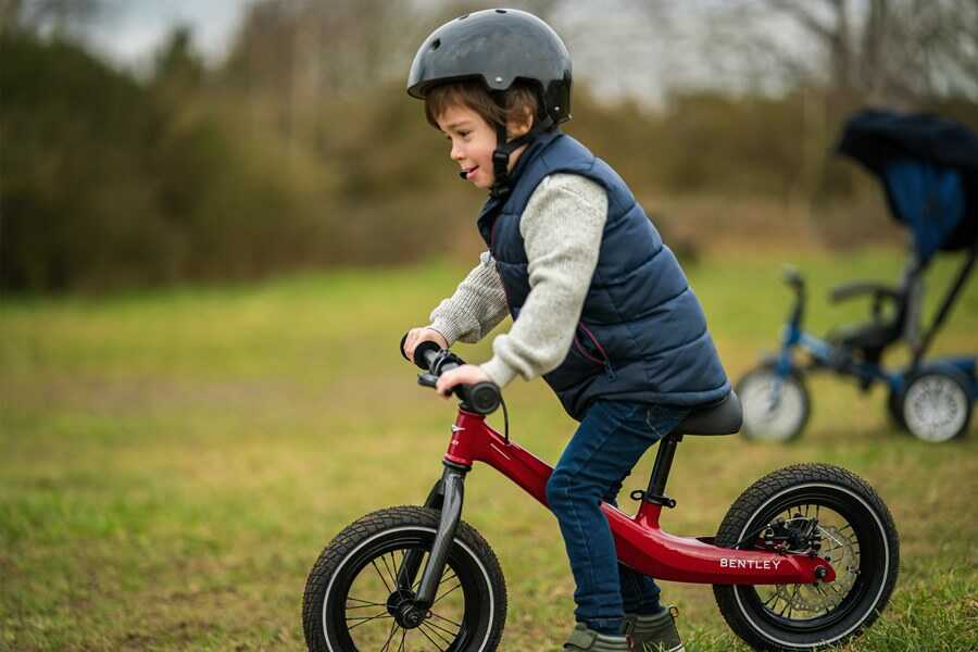 Discover The Bentley Balance Bike For Children
